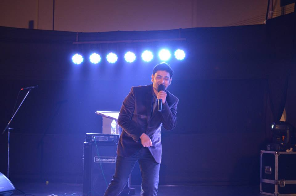 Performing at murder 2 launch