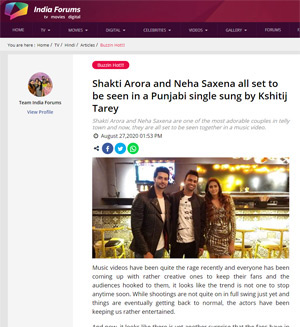 india form news article shakti arora