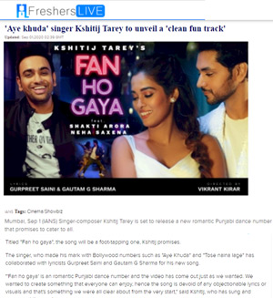freshers live news fan ho gaya article