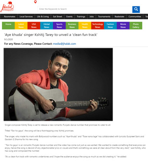 jhalak website article on fan ho gaya song